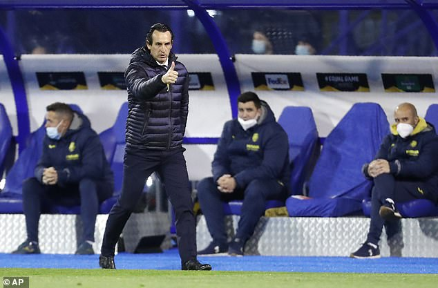 A reunion with Arsenal remains on the cards for Villarreal manager Unai Emery