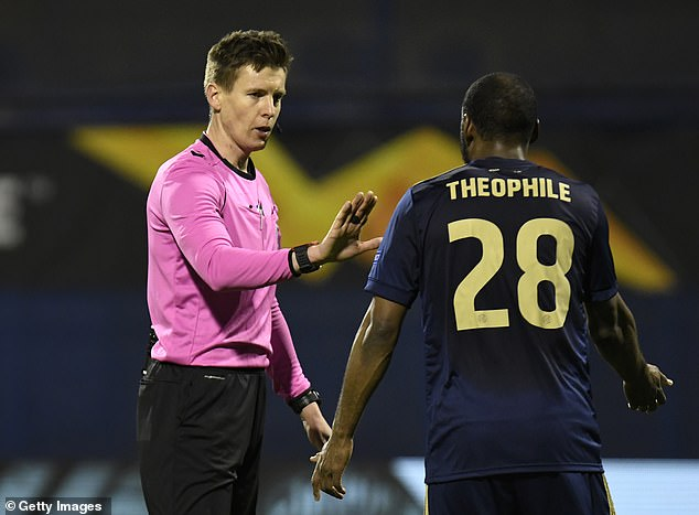 Villarreal were awarded the penalty following a handball from Kevin Theophile-Catherine