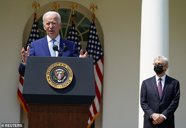 President Joe Biden announced new gun control executive actions in the wake of the Atlanta spa attacks and other mass shooting. Republicans are vowing to sue to roll back 'unconstitutional' efforts