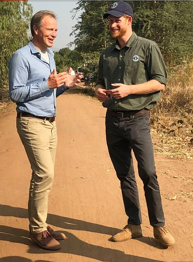 Prince William's 20-year friendship with ITV newsreader Tom Bradby (above with Prince Harry) is reportedly on the rocks
