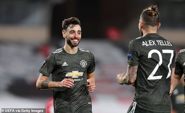 Marcus Rashford scored before Bruno Fernandes wrapped up the routine victory in Spain