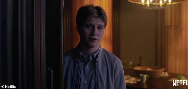 Son:Anna claims that she is 'not crazy' and that they are 'all hiding something,' as we also get glimpses at Jane's sons, David (Wyatt Russell) and Ethan (Fred Hechinger), the latter of whom insists, 'You have never met my mother'