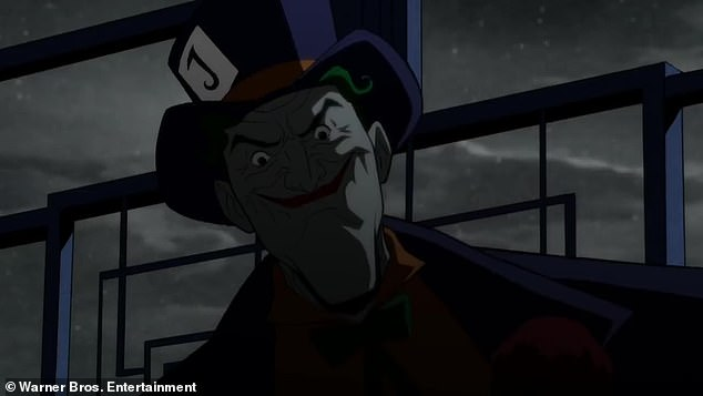 Joker:The killing was seemingly perpetrated by a mysterious killer known as Holiday, with Joker (voiced by Troy Baker) claiming there is, 'only room for one homicidal maniac in this town'