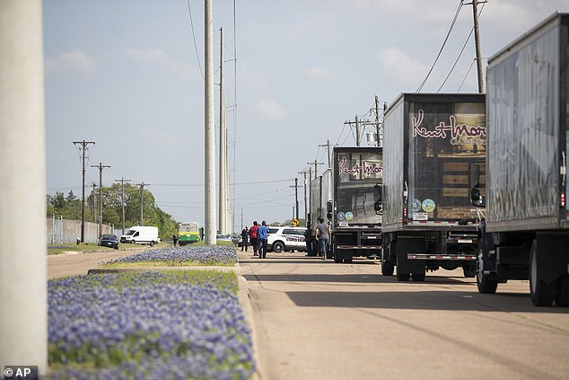 Police responded to a shooting at Kent Moore Cabinets on Thursday in Bryan, Texas