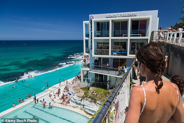 Bondi Iceburgs has long been a popular attraction for tourists and locals in Sydney's east (stock image)