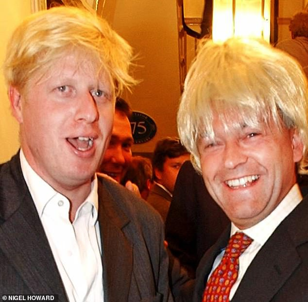Talking of zingers, I've thoroughly enjoyed ex Tory Minister Alan Duncan's (above with Boris Johnson at The Spectator party in 2003) incendiary diaries