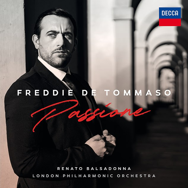 Frankly, Freddie De Tommaso's (above) performances are a bit rough and ready, showing him to be very much a work in progress