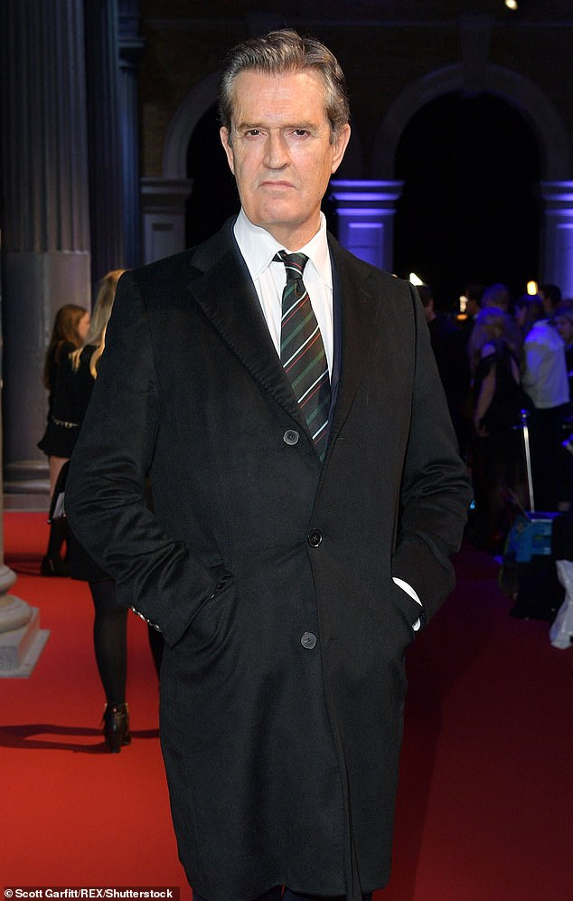 Scandal: The plot will revolve around Rupert Everett's character James Whitehouse's rape accusation filed by an aide with whom he'd been having an affair (picture in 2018)