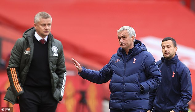 Mourinho got the better of Ole Gunnar Solskjaer in October with a stunning 6-1 away win