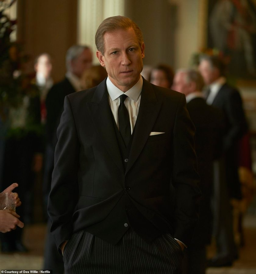 Tobias Menzies takes on the role of Prince Philip in the third season of the Netflix series, which claims the Duke of Edinburgh went through a mid-life crisis