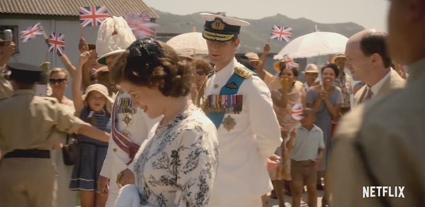 Shortly after the birth of Princess Anne, Queen Elizabeth and Prince Philip depart on a six-month Commonwealth tour