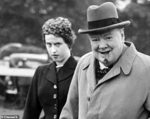 In Channel 5's Churchill: A Gathering Storm, viewers hear from leading historians as well as Lady Williams of Elvel - the secretary who worked for the politician from 1949 until 1955 ¿ about how the politician crafted his words
