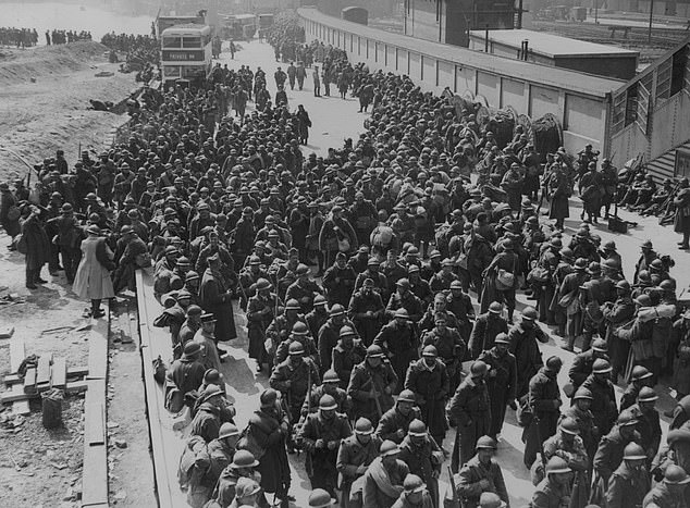 Incredibly, 338,000 British and Allied troops were ultimately rescued from the French beaches over the course of eight days