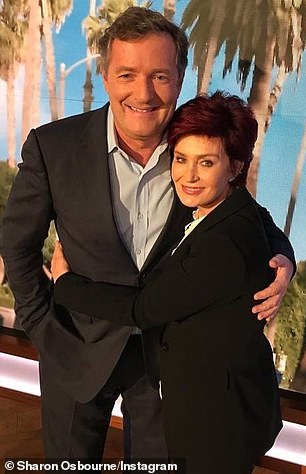 Sharon Osbourne et Piers Morgan