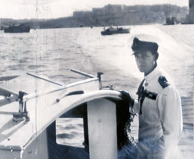 He was the very best of British; a swashbuckling, risk-taking daredevil with boundless energy, deep personal courage and a sharp quick wit who understood that the primary function of the Royal Family is duty to the country. Philip is pictured on the Captain's Boat en route for HMS Chequers while in Malta in October 1949