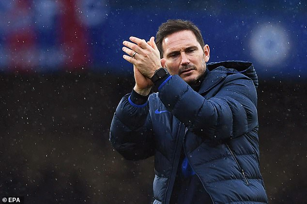 Lampard said he is 'absolutely appreciative' of the chance despite his reign lasting 18 months