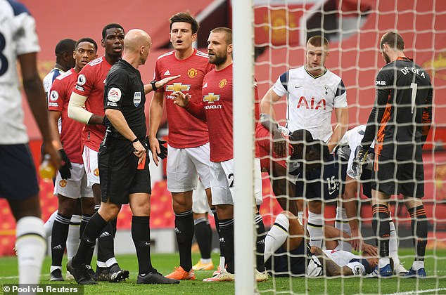 Solskjaer said his players are still hurting from their defeat at the hands of his predecessor