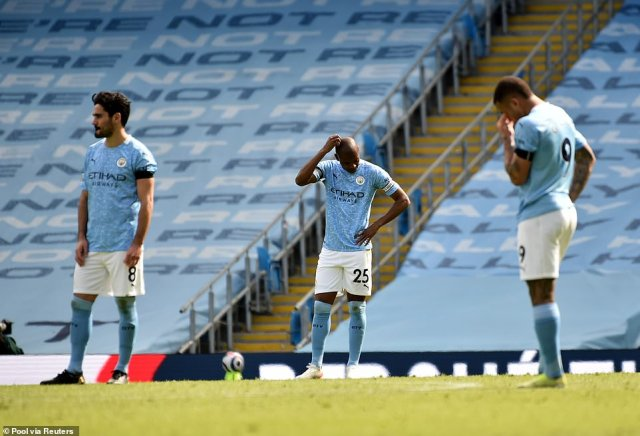 Saturday's defeat is City's third league loss of the season, coming at the wrong time ahead of their upcoming European tie