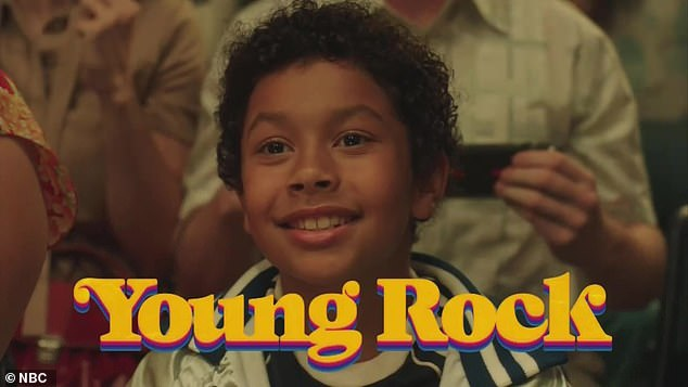 Johnson's latest TV project is an NBC series based on his life called Young Rock, where in 2032 he launched a presidential race.