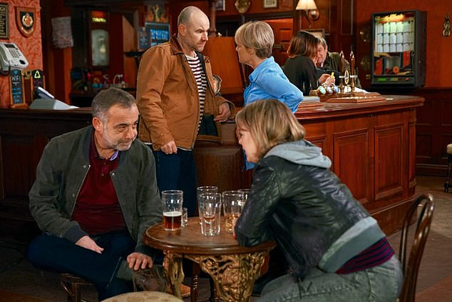 Longer:Emmerdale will run from 7pm-8pm with Coronation Street filling the channel's 8-9pm time slot (Pictured: Coronation Street cast in 2020 still)