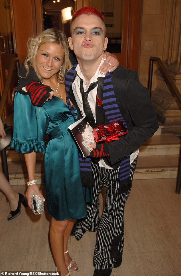 Pals:Big Brother winner Pete called off their romance after just a month, but the pair remained friends (pictured in 2006)