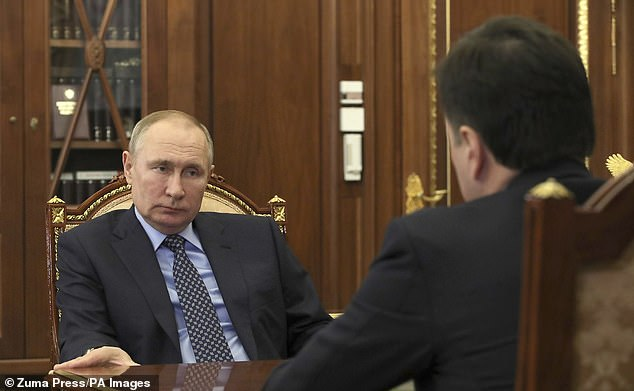 Western governments fear Vladimir Putin's actions will reignite conflict with Ukraine