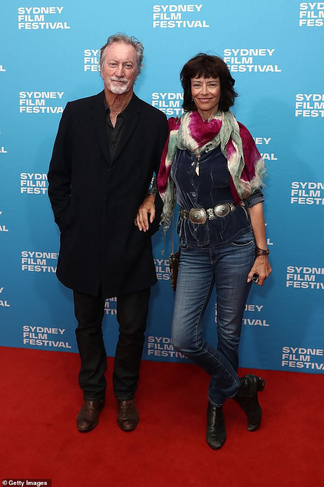 """Motivations: """"It seems like one of the reasons they do this is because they invest a lot of money in foreign films that get here,"""" Bryan said.  Pictured with wife Rachel Ward"""
