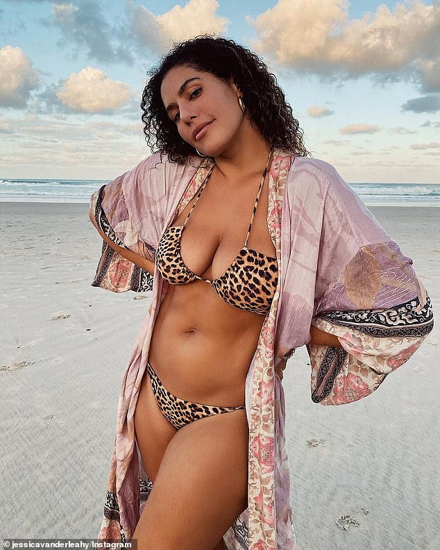 Already cast?  Plus-size model Jessica Vander Leahy (pictured) set to appear in upcoming Netflix reality series Byron Baes