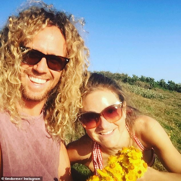'I am truly broken to hear of my good friend Nikki's passing': Tim Dormer [L] has paid tribute to his fellow reality TV star Nikki Grahame [R] in the wake of her tragic death amid a battle with anorexia