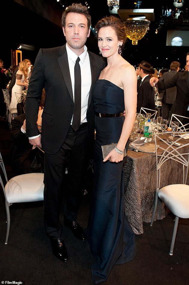 Ex: Jennifer and Ben's divorce was finalized in 2018, nearly three years after the couple separated and almost a decade into their marriage; pictured in 2014