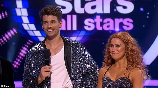 Harsh!Fans watching at home had mixed reviews of Matty's dance debut - with some won over, and others wondering who he is