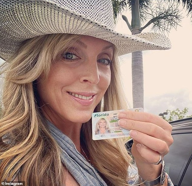 Surprise! Marla Maples, 57, revealed last month that she has moved to Florida while proudly showing off her new license on Instagram