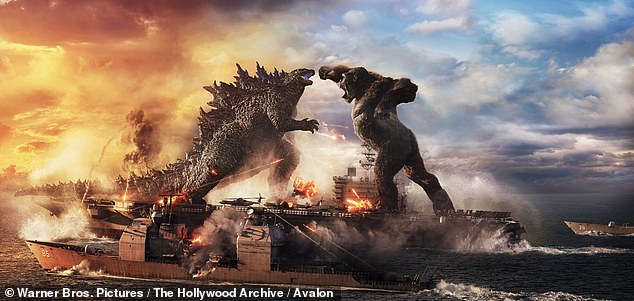More theaters: Godzilla vs Kong actually added 20 theaters from its first weekend, arriving in 3,084 theaters in its second frame