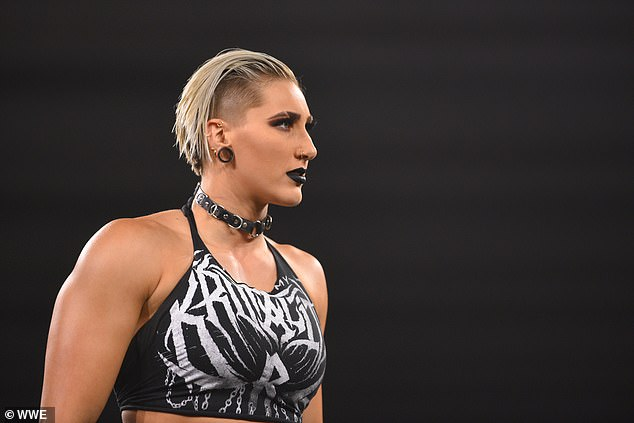 WWE soon took notice and signed her to NXT in 2017, when she was still just 20 years old. on Monday, Rhea will be the youngest person on the WrestleMania card, competing for the top title in the women's division