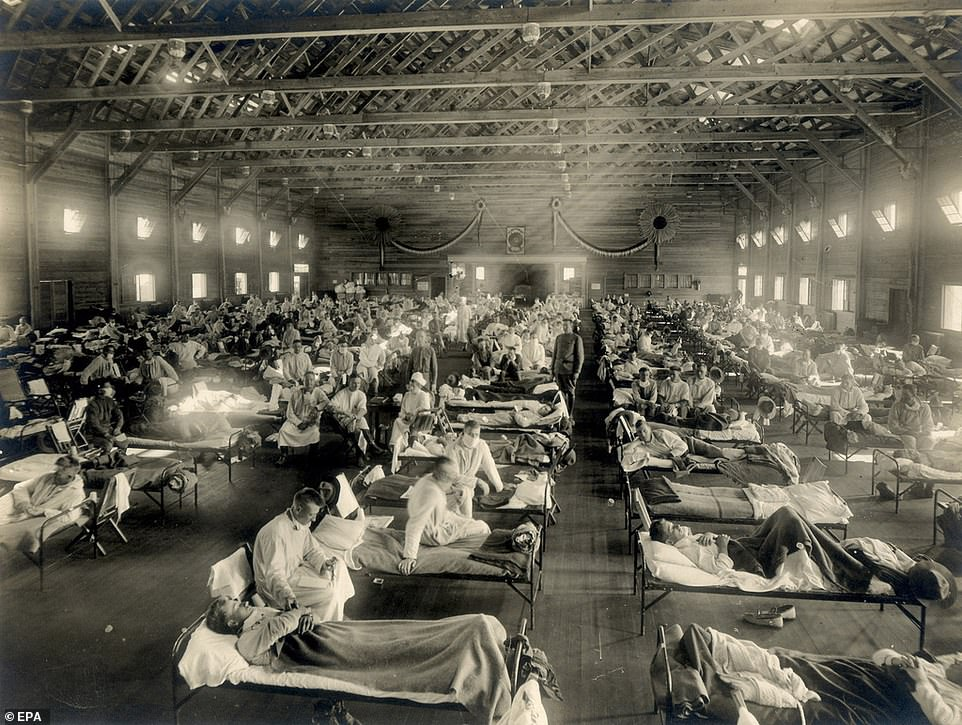 The Spanish Flu killed 50 million people from 1918-20
