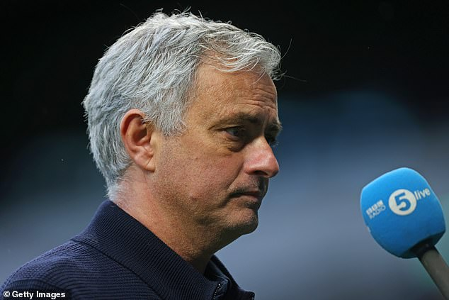 Mourinho angrily condemned Solskjaer's comments in his post-match interview on Sunday