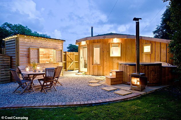 Self-contained accommodation means that the residence has its own bathroom, kitchen and sleeping facilities that would not have to be shared with anyone from another household. Pictured:Cool Camping sites