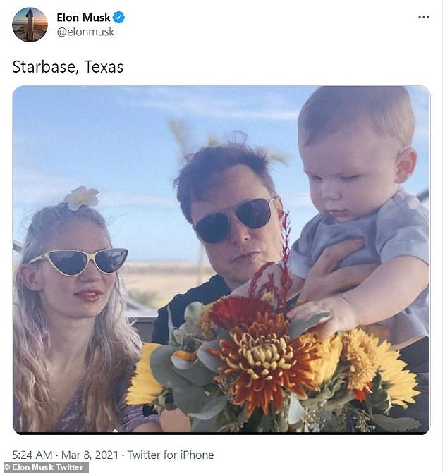 Family: Grimes and Musk, who started dating in 2018, share a son together, the unusually named X Æ A-Xii. The tot will turn one on May 4