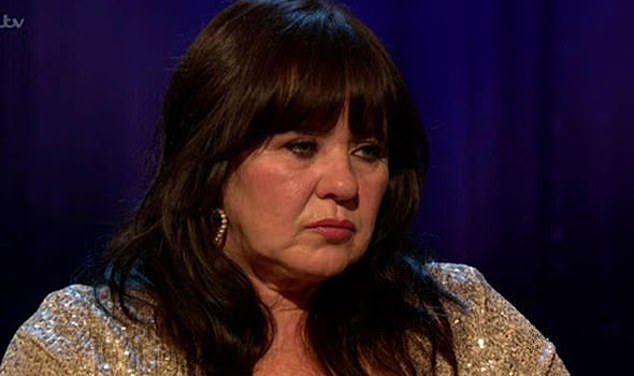 Struggles: In a recent interview on Piers Morgan's life stories, Linda's sister Coleen was torn apart as Piers showed her a clip in which Linda admits she is afraid of dying.