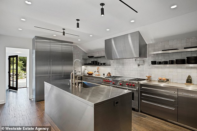 Luxury: Ellen and Portia completely renovated the already beautiful house in 2020 before putting it up for sale