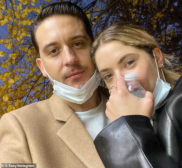 Exes:Missing from her dinner meet-up was her ex-boyfriend G-Eazy, 31, whom she was spotted with in his Ferrari earlier this month