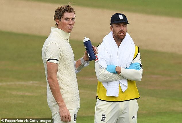 Jack Leach (right) has opened up on what it has been like to spend time in biosecure bubbles