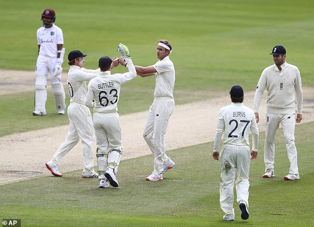 Leach found it tough but explained that England's successes helped lift the team morale