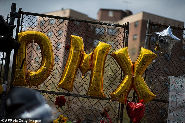 Fans paid tribute to the late rapper outside White Plains hospital where he spent his final days