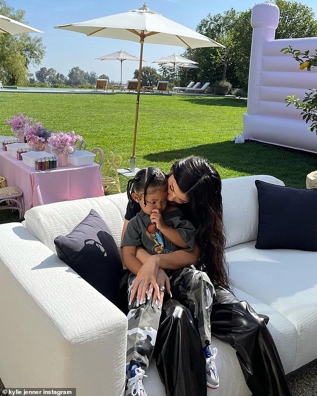 Hostess with the mostess: The makeup mogul was happy to offer up her second home for a birthday celebration for the Kardashian-Jenner cousins