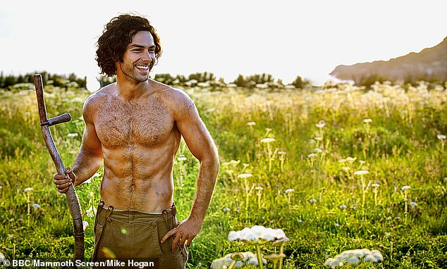 Bare all: The actor, 37, who is no stranger to intimate scenes given his five-year stint on Poldark, admitted it could still be a tricky experience according to the director.
