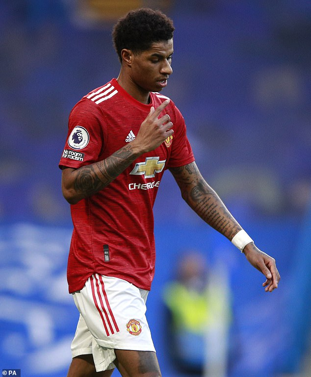 Pals: The footballer has played with old friend Rashford for Manchester United and the England national side