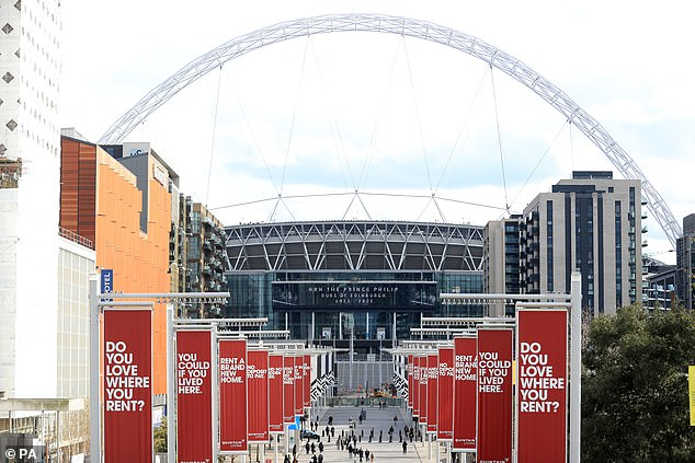 The first three games of the tournament will be played at Wembley Stadium in June this year