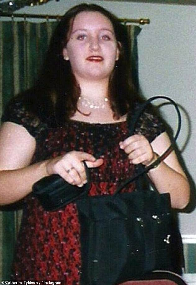 Before: Around 10 years ago Catherine lost staggering six stone before joining the cast of Coronation Street