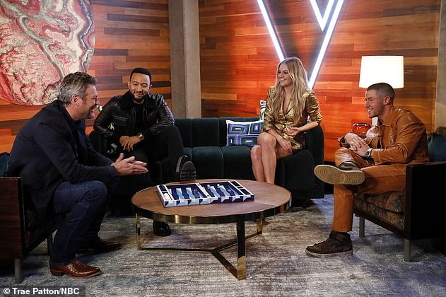 'The Battles, Part 3': The Ohio-born R&B Belter remains busy as a coach in the 20th season of The Voice singing competition, which airs Mondays on NBC